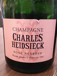 Charles Heidsieck Rosé Réserve