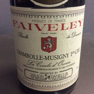 Dom. Faiveley Chambolle Musigny 1er Cru La Combe d'Orveau