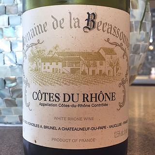 Dom. André Brunel Côtes du Rhône Dom. de la Becassonne