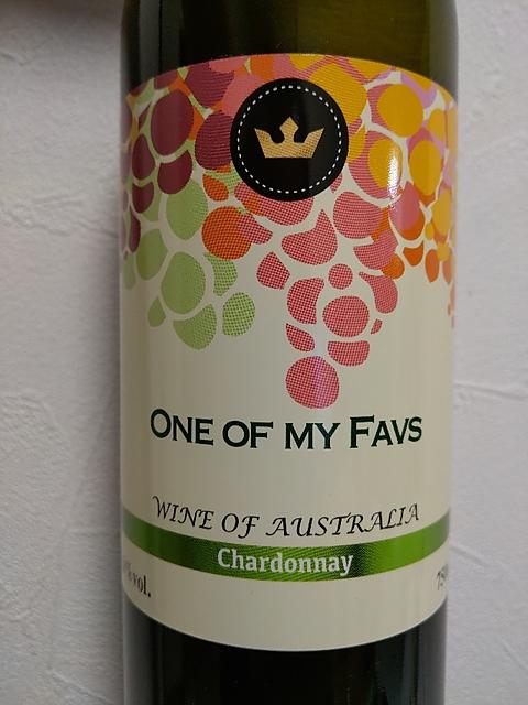 One of My Favs Chardonnay(ワン・オブ・マイ・ファヴス シャルドネ)