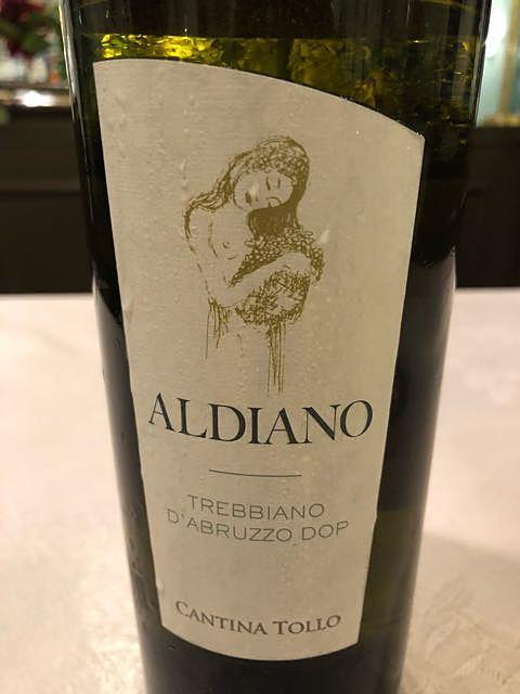 Cantina Tollo Aldiano Trebbiano d'Abruzzo(カンティーナ・トッロ アルディアーノ トレッビアーノ・ダブルッツォ)