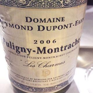 Dom. Dupont Fahn Puligny Montrachet Les Charmes