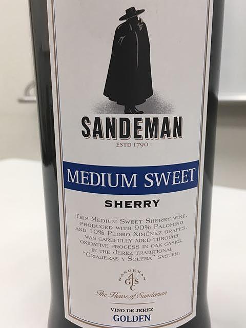 Sandeman Medium Sweet Sherry(サンデマン ミディアム・スウィート シェリー)
