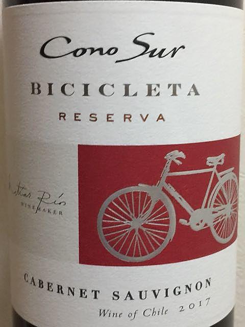 Cono Sur Bicicleta Cabernet Sauvignon Reserva(コノ・スル ビシクレタ カベルネ・ソーヴィニヨン レゼルヴァ)