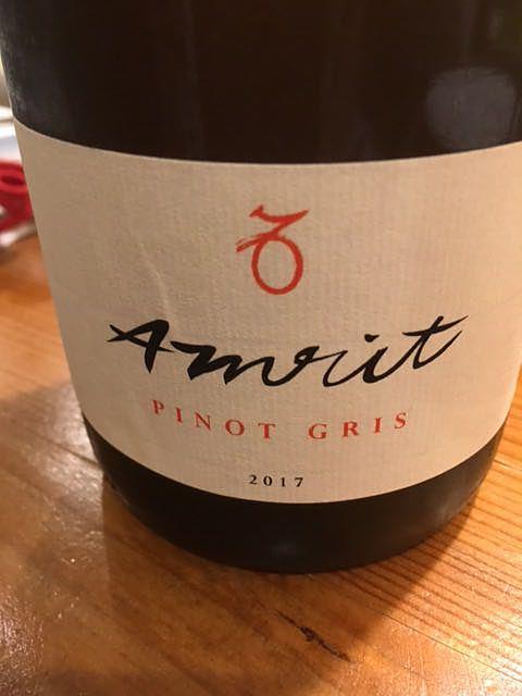 Amrit Pinot Gris(アムリット ピノ・グリ オンスキン)