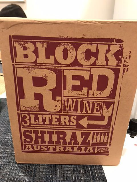 Block Red Wine Shiraz(ブロック・レッド・ワイン シラーズ)