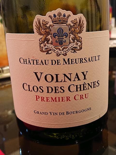 Dom. du Ch. de Meursault Volnay 1er Cru Clos des Chênes(ドメーヌ・デュ・シャトー・ド・ムルソー ヴォルネイ プルミエ・クリュ クロ・デ・シェーヌ)