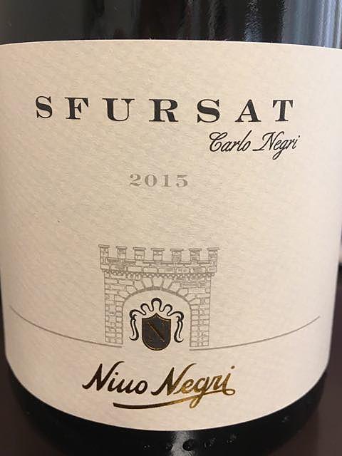 Nino Negri Sfursat Carlo Negri(ニーノ・ネグリ スフルサート カルロ・ネグリ)