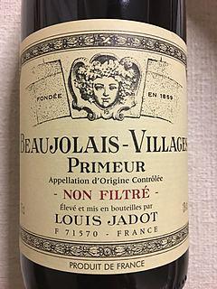 Louis Jadot Beaujolais Villages Primeur Non Filtré