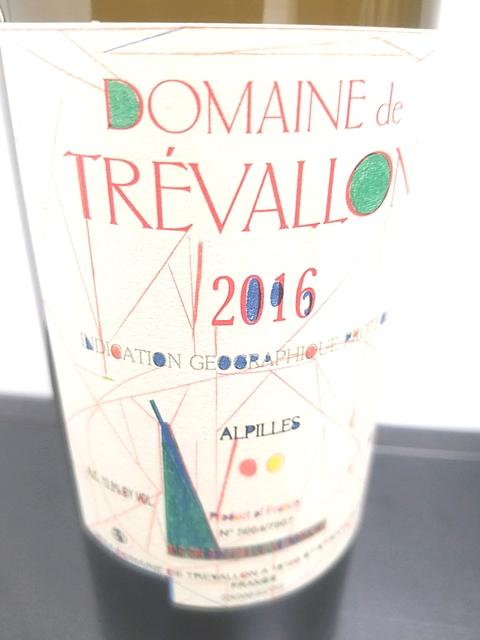 Dom. de Trévallon Blanc 2016