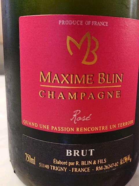 Maxime Blin Brut Rosé