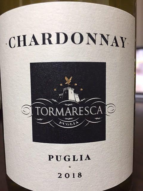 Tormaresca Chardonnay(トルマレスカ シャルドネ)
