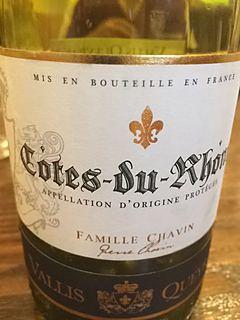 Vallis Queyras Côtes du Rhône(ヴァリス・ケラス コート・デュ・ローヌ)