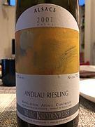マルク・クライデンヴァイス アンドロー リースリング(2001)