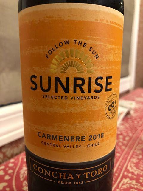 Sunrise Carmenere