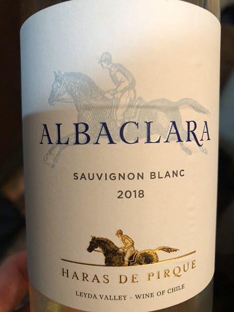 Haras de Pirque Albaclara Sauvignon Blanc(アラス・デ・ピルケ ヒューソネット ソーヴィニヨン・ブラン)