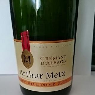 Arthur Metz Crémant d'Alsace Brut Millésime