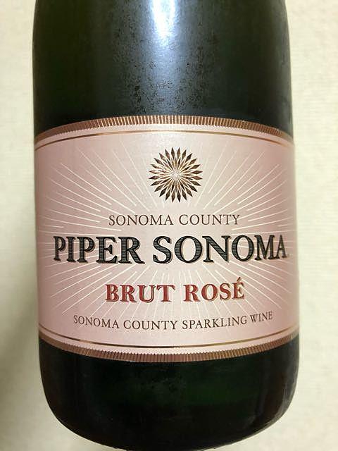 Piper Sonoma Brut Rosé(パイパー・ソノマ ブリュット・ロゼ)
