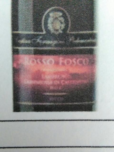 Rosso Fosco Lambrusco Grasparossa di Castelvetro Secco
