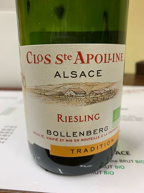 Bollenberg Clos Ste Apolline Riesling Tradition