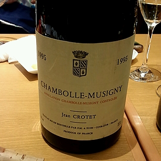 Jean Crotet Chambolle Musigny