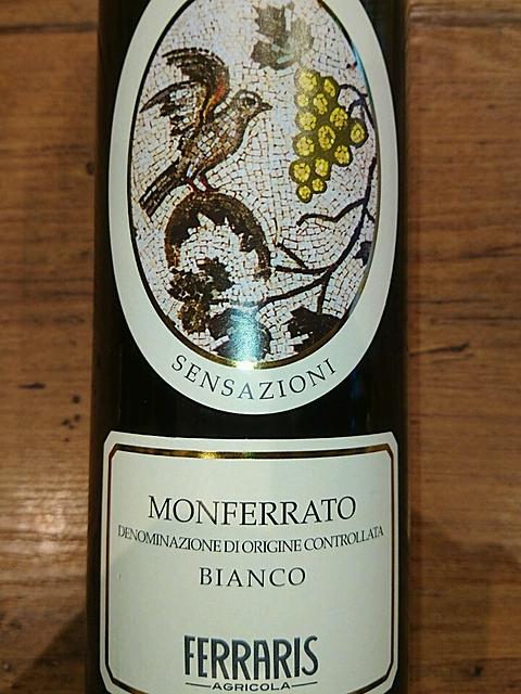 Luca Ferraris Monferrato Bianco Sensazioni(ルカ・フェラリス モンフェッラート・ビアンコ センサツィオーニ)