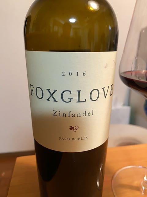 Foxglove Zinfandel Paso Robles(フォックスグローヴ ジンファンデル パソ・ロブレス)