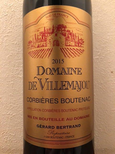 Dom. de Villemajou Corbières Boutenac