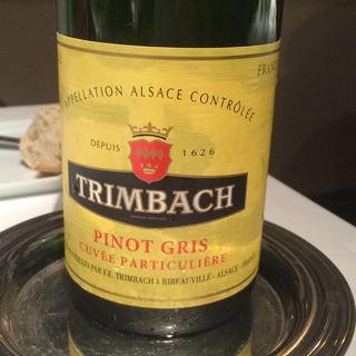 Trimbach Pinot Gris Cuvée Particuliere