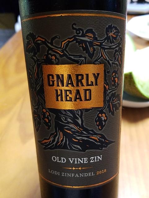 Gnarly Head Old Vine Zinfandel(ナーリー・ヘッド オールド・ヴァイン・ジンファンデル)