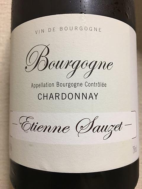 Etienne Sauzet Bourgogne Chardonnay