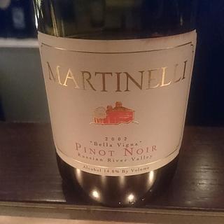 Martinelli Bella Vigna Pinot Noir(マルティネッリ ベラ・ヴィーニャ ピノ・ノワール)