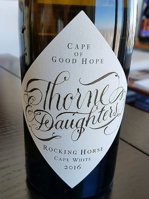 Thorne & Daughters Rocking Horse Cape White 2016