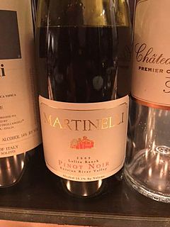 Martinelli Lolita Ranch Pinot Noir