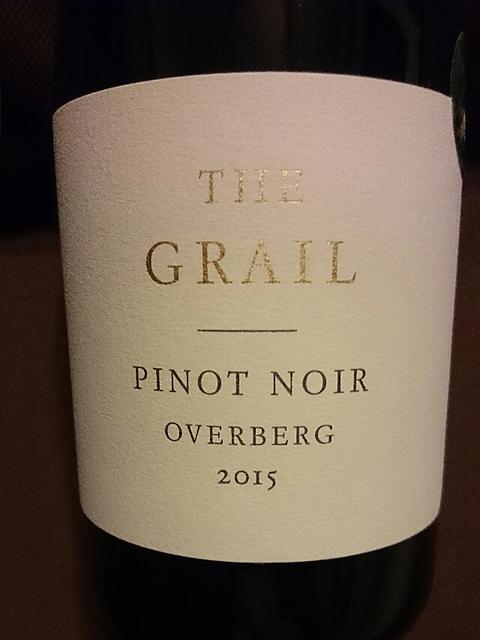 The Grail Overberg Pinot Noir