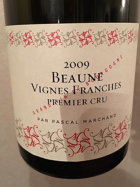 Pascal Marchand Beaune Vignes Franches 1er Cru