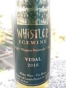 ウィスラー ヴィダル アイスワイン(2016)