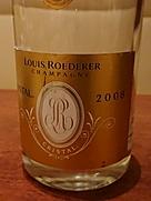 ルイ・ロデレール クリスタル ブリュット(2008)