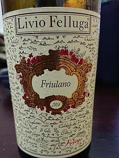 Livio Felluga Friulano(リヴィオ・フェッルーガ フリウラーノ)