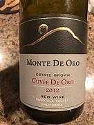 Monte de Oro Estate Grown Cuvée de Oro(2012)