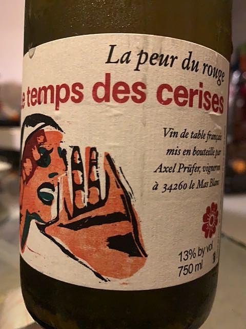 Le Temps des Cerises La Peur du Rouge(ル・トン・デ・スリーズ ラ・プール・デュ・ルージュ)