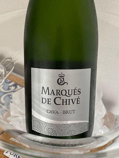 Marqués de Chivé Cava Brut(マルケス・デ・チベ カバ ブルット)