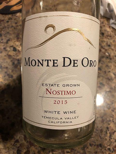 Monte de Oro Estate Grown Nostimo