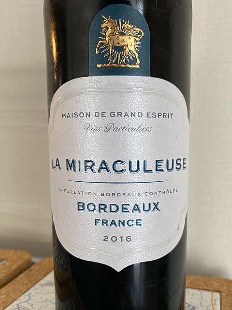 Maison de Grand Esprit La Miraculeuse Bordeaux(メゾン・ド・グラン・エスプリ ミラキュルーズ ボルドー)
