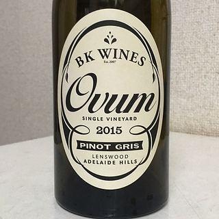 BK Wines Ovum Pinot Gris