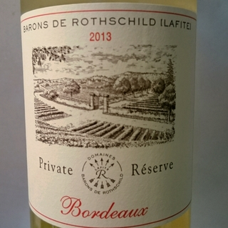 Barons de Rothschild Bordeaux Private Réserve Blanc