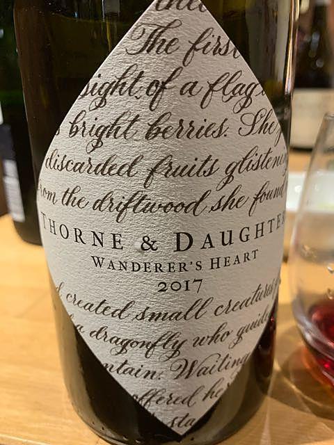 Thorne & Daughters Wanderer's Heart 2017