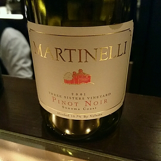 Martinelli Three Sisters Vineyard Pinot Noir