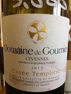 Dom. de Gournier Cévennes Cuvée Templière Rouge(ドメーヌ・ド・グルニエ セヴェンヌ キュヴェ・タンプリエール ルージュ)