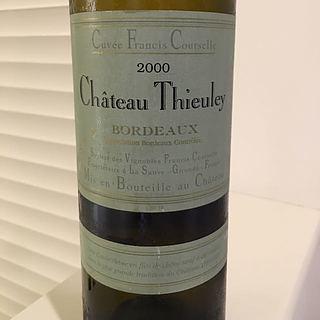 Ch. Thieuley Bordeaux Blanc Cuvée Francis Courselle